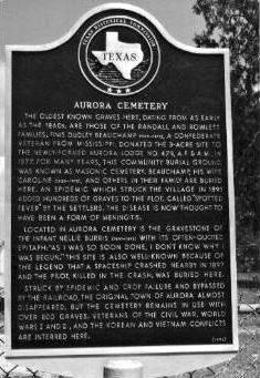 Aurora marker