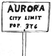 Aurora sign
