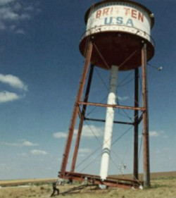 Britten water tower