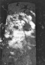 Mitchell Cemetery Headstone