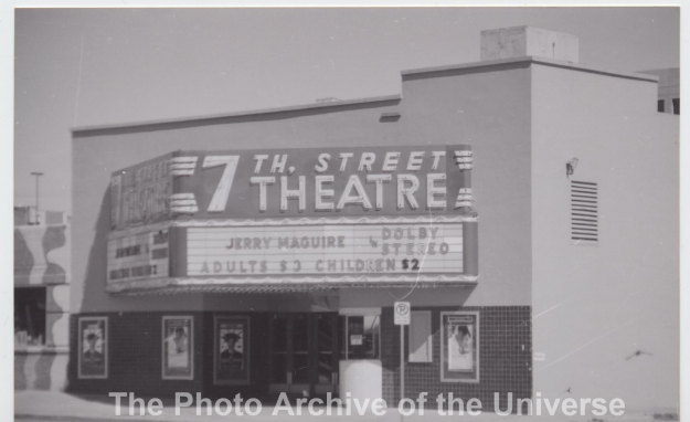 Item #142 Seventh Street Theater. Photo by Les.