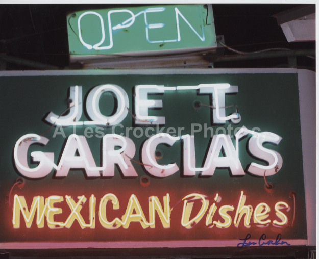 Item #133 Joe T. Garcias Restaurant, Northside Fort Worth. Photo by Les.