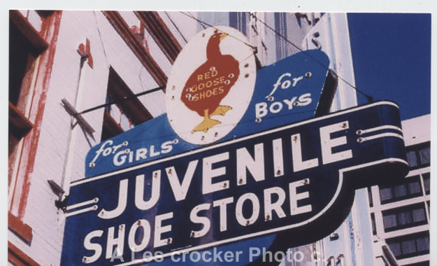 Item #132 Juvenile Shoe Store, Downtown Fort Worth. Photo by Les