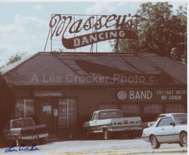Item #130 Massey's Dancing on Jacksboro Hwy. Photo by Les