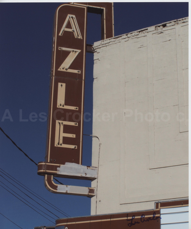 Item #139 Azle Theater on Azle Ave. Northside Fort Worth. Photo by Les