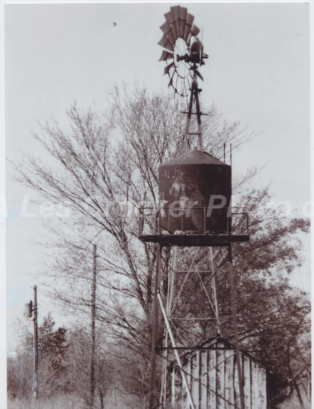 Item #135 Windmill on East First Street, Photo taken by Les