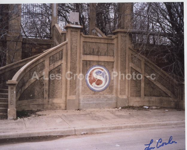 Item # 122 Swift And Co. Stairs on South side of Plant. Photo by Les.