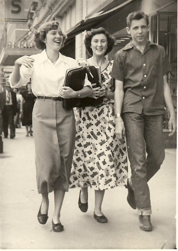 Attached is a photo of three Carter Riverside students. Left to right is Ellen Cline, Evyonne Andrews, and Jack Finney all of Ft. Worth. The time period is somewhere around 1948. contributed by Herb Kavanaugh
