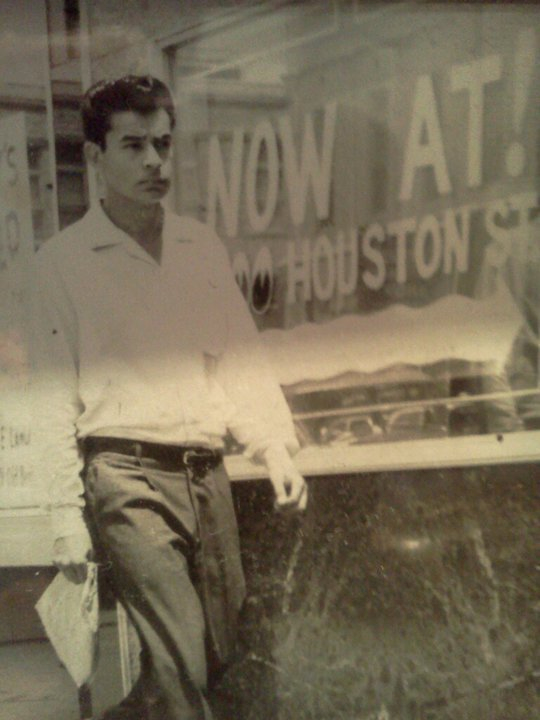 My dad Refugio (Cuco) Lopez around 1960 Contributed by Lenora Lopez