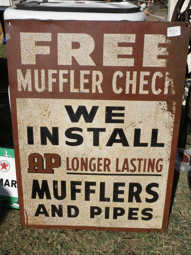 Found sign at Canton Flea Market.