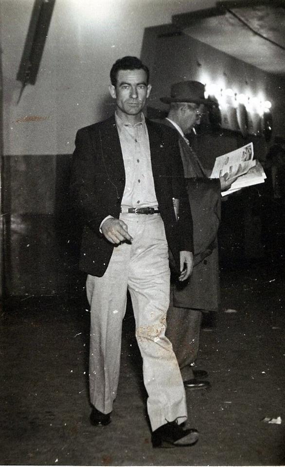 Daddy Pete Moore on the Streets of Fort Worth. Contributed by Joyce Moore Langham Pugh