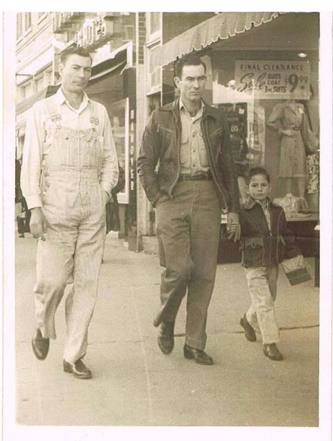Uncle Bill Gray, Daddy Pete Moore, Brother Joe Moore. Contributed by Joyce Moore Langham Pugh.