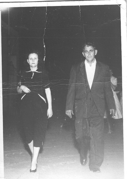 My parents on the way to my sister's 1958 graduation from Paschal High School. Pictured: Vernon & Ollie Mae Smyers Contributed by Sherry Smyers Selby