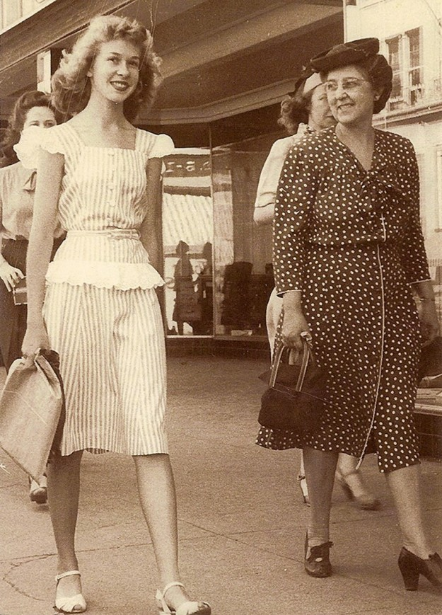 Dear Mr. Crocker, I just discovered your website with the great old photos. My family had one of our mother, Mary Jane Garner Gilmore and one of her aunts, Annie Garner Moore taken on the streets of Fort Worth in the mid 1940's. Aunt Annie lived in Fort Worth and guess Mother was there to visit. Sincerely, Lauren Gilmore Staley