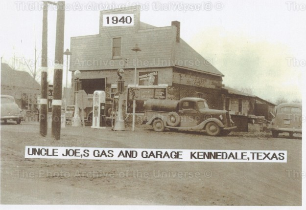 Item #109 Uncle Joe's Gas and Garage in Kennedale.