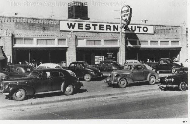 Item #102 Western Auto, Fort Worth