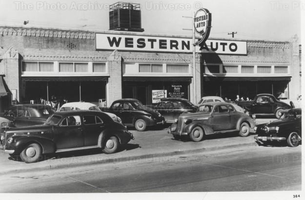 Item #102 Western Auto, Fort Worth