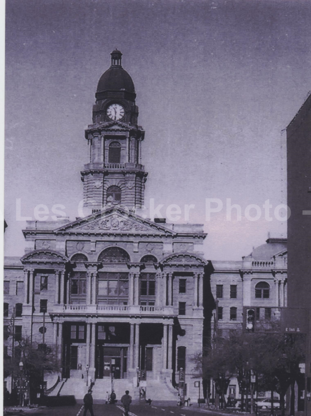Item #120 The Tarrant County Courthouse. Photo by Les.