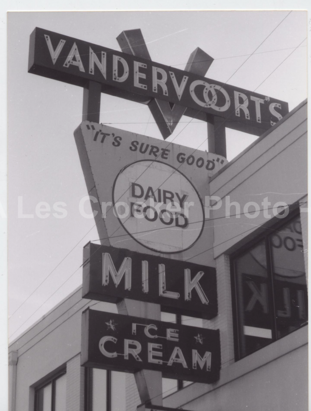Item #117 Vandervoorts Milk and Ice Cream