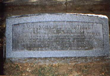 Jim Courtright Grave