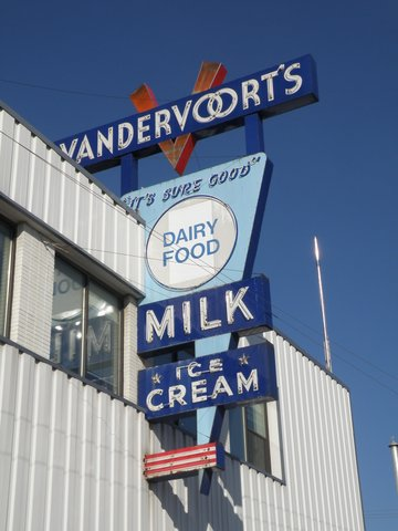 Vandervoorts Milk And Ice Cream.