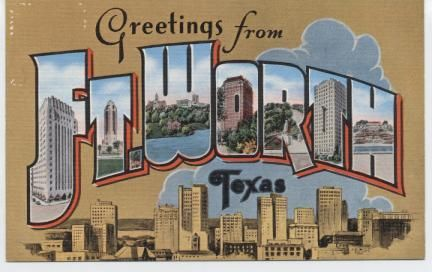 Fort Worth Postcards
