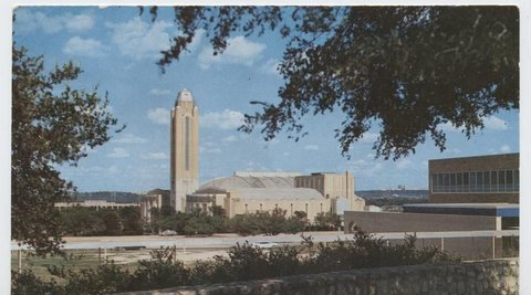 Amon Carter Square Will Rogers Memorial Coliseum.