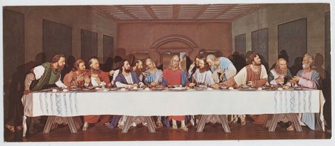 """The Lord's Supper""."
