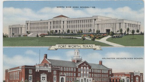 North Side High School and Arlington Heights High School.