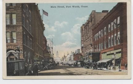 Main Street , Fort Worth, Texas