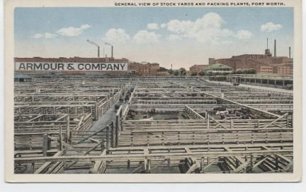 General View of Stock Yards and Packing Plants