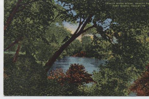 River Scene, Trinity Park