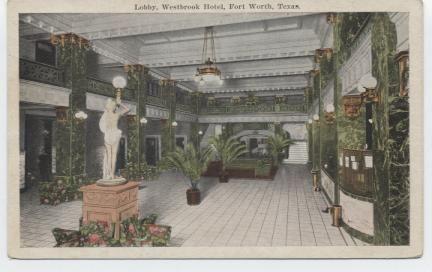 Lobby, Westbrook Hotel.