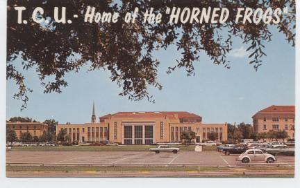 Texas Christian University..Home of the Horned Frogs