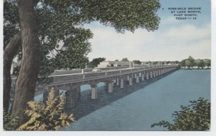 Nine Mile Bridge at Lake Worth.