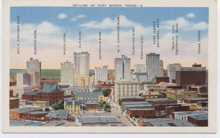 Fort Worth Postcards | The Tarrant County Historical Journal