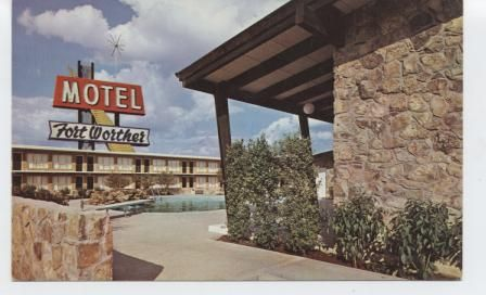 The Beautiful Fort Worther Motel. Seminary Drive exit, U.S. 81 South. 4213 South Freeway , Fort Worth. Reservation phone wa 3- 1987.