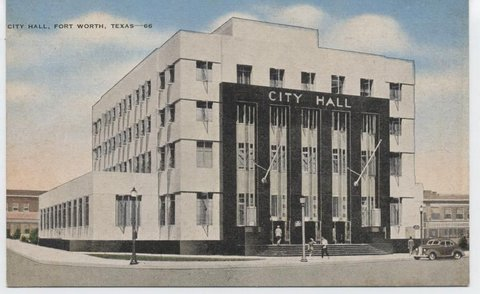 City Hall. occupied in 1939
