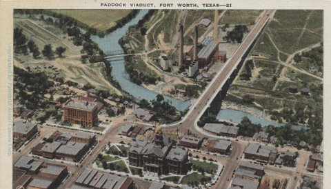"""Paddock Viaduct"" Fort Worth"