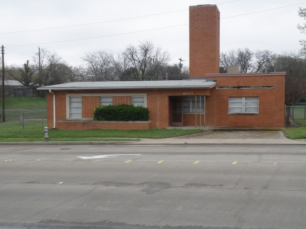 Fire Station #26 in the 4500 block of Granbury Road just South of Trail lake Dr. Now Closed. Photo taken by Les Crocker on 2/21/15 and suggested by Kent Worley.