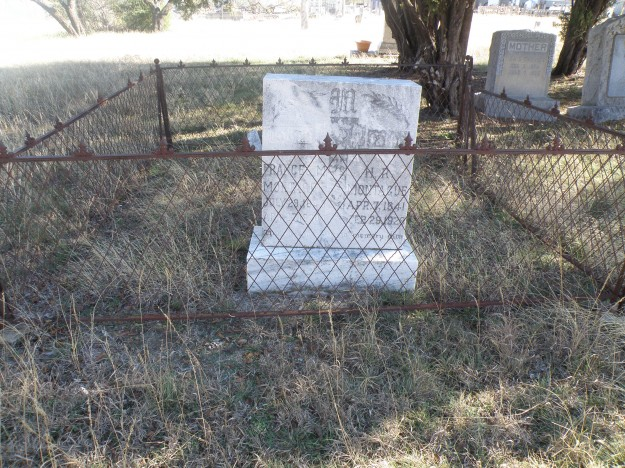 The Handley Cemetery was once known as the Presbyterian Cemetery and is the oldest Cemetery in the Handley area.